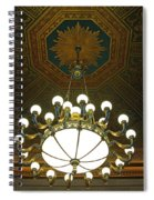 A Franklin Chandelier Spiral Notebook