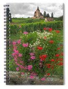 A French Country Church Spiral Notebook