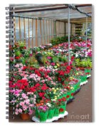 A French Flower Market Spiral Notebook