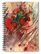 A Frog In Love Spiral Notebook