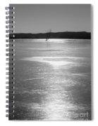 A Frozen Lake Spiral Notebook