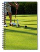 A Game Of Croquet Spiral Notebook