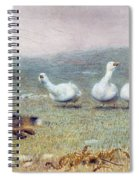 A Game Of Fox And Geese, 1868 Spiral Notebook