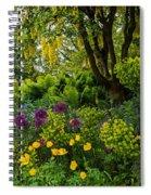 A Garden Of Color Spiral Notebook