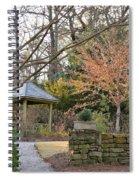 A Garden Walk In February Spiral Notebook