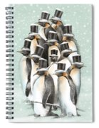 A Gathering In The Snow Spiral Notebook