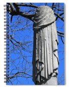 A General's Draped Monument Spiral Notebook