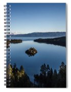 A Generic Photo Of Emerald Bay Spiral Notebook