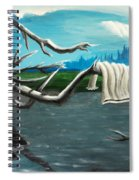 Aura On The Lake Spiral Notebook