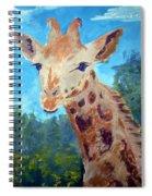 A Giraffe For Ori Spiral Notebook