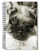 A Girl And Her Curls Spiral Notebook
