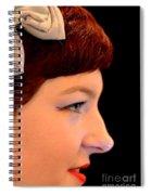 A Girl Named Meg Spiral Notebook