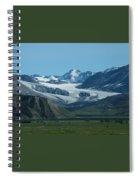A Glacier Receding Spiral Notebook