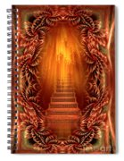 A Glimpse Of Heaven - Soothing Art By Giada Rossi Spiral Notebook