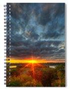 A Glorious Minneapolis Sunset Spiral Notebook
