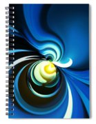 A Glow Of Yellow Spiral Notebook