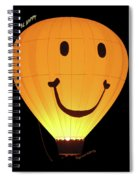 A Glowing Smile Spiral Notebook
