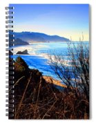 A Gorgeous Morning On The Pacific Spiral Notebook