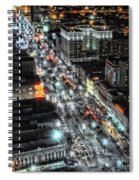 A Gothic Night In New Orleans On Canal Street Spiral Notebook