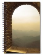 A Great View Of China Spiral Notebook