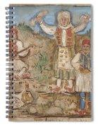 A Greek Feast Spiral Notebook