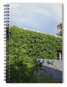 A Green House Spiral Notebook