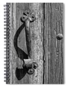 A Handle On It - Bw Spiral Notebook