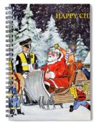 A Happy Christmas Spiral Notebook