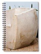 A Hard Seat Spiral Notebook