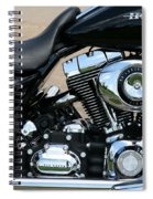A Harley In Arlington Spiral Notebook