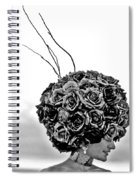 A Hat Of Roses Spiral Notebook