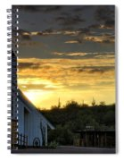 A Heavenly Morning  Spiral Notebook