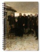 A Highland Funeral Spiral Notebook