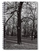 A Hint Of Winter Spiral Notebook