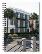 A Historic Home On The Battery - Charleston Spiral Notebook
