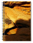 A Hole In The Rock Spiral Notebook