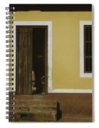 A House Is Made Of Walls And Beams A Home Is Built With Love  Spiral Notebook