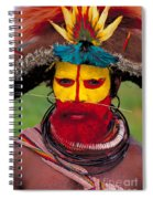 A Huli Man Spiral Notebook