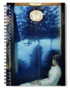 A Japanese Lantern Spiral Notebook