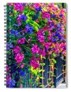 A Journey Thru Color  Spiral Notebook