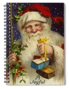 A Joyful Christmas Spiral Notebook
