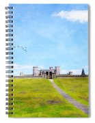 A Kings Castle Spiral Notebook