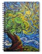 A Kiss Of Sun Spiral Notebook