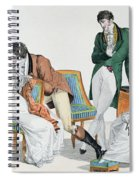 A Kissing Game Spiral Notebook