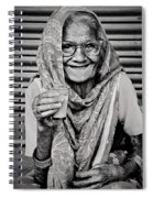 A Lady And Her Chai IIi Spiral Notebook