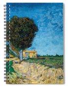 A Lane Near Arles Spiral Notebook