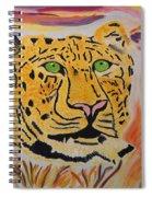 A Leopard's Gaze Spiral Notebook