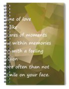 A Life Time Of Love Spiral Notebook