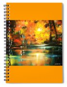 A Light In The Forest Spiral Notebook