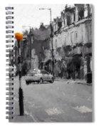 A Light On A Grey Day Spiral Notebook